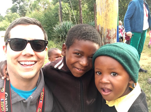 Visiting an orphanage with Gate One South Africa