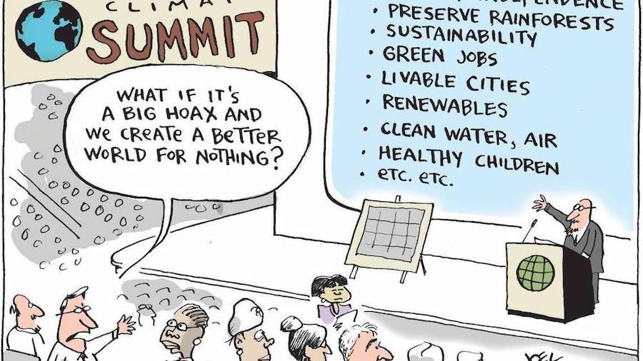 Joel Pett - Climate Summit
