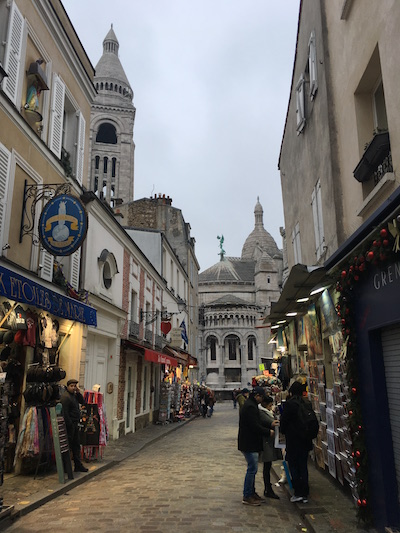 Streetview in Montmartre